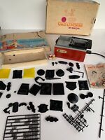 Box lot 1962 Vac-U-Form machine by Mattel with molds sheets parts Instructions