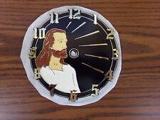 "Jesus 6"" Clock Face Plastic Self-Stick Part New"