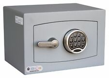 Securikey Mini Vault Silver S2 Size 0 Keypad Operated Safe - £4K Cash Rating