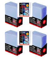 """(100) Ultra-Pro Vintage Size Topload Card Holders 2-3/4"""" x 3-15/16"""" + Sleeves"""
