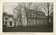 A View Of St Peter's Episcopal Church, Buckingham Street, Springfield, MA