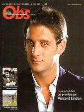 Mag 2005: VINCENT LINDON_BENOIT POELVOORDE