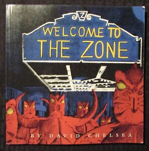 1995 WELCOME TO THE ZONE by David Chelsea SC FN- 5.5 1st Kitchen Sink