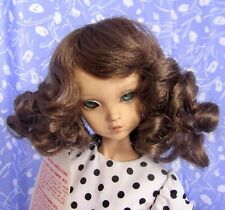 Kemper PRINCESS Lt. Brown Full Cap Doll Wig Size 6-7.5 Short Mid-Length Curly