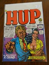 Hup #1 First Printing Underground Comix Comic Book High Grade Last Gasp