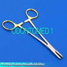 """TC Sternal Wire Twister Needle Holder 8"""" Dental Orthodontic Surgical Instruments"""