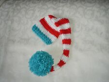 Handmade elf Hat for Newborn to 3 Months Photo Prop