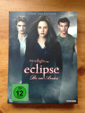 DVD Eclipse Biss zum Abendrot Die Twilight Saga 2 Disc Fan-Edition