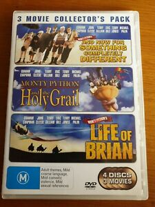 MONTY PYTHON 4 DISCS & 3 MOVIES  COLLECTOR'S PACK
