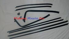 front & rear window felt fuzzy inner & outer sweeps set 70 71 72 Chevy Chevelle