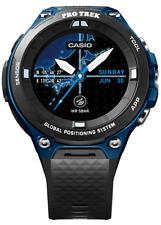 Casio Pro Trek Men's Quartz Black Band 57mm Smartwatch WSD-F20A-BUAAU