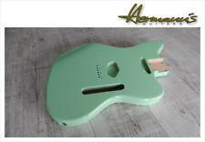 Telemaster Style Erle Body, Telemaster Alder Body, High Gloss Surf Green