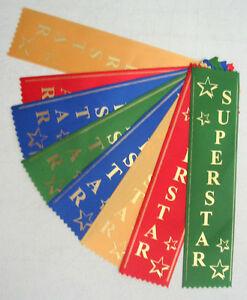 SUPER STAR AWARD RIBBONS Free Standard Postage