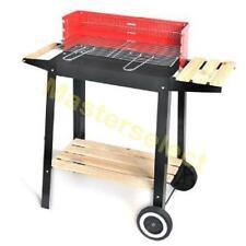 Barbecue Sur Chariot Roues Avec Servante Pour Charbon De Bois  - Pas Cher -