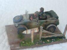 28mm BOLT ACTION WORLD WAR II SS GERMAN KUBELWAGEN PRO PAINTED
