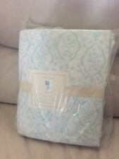Pottery Barn Kids Aqua Claire Full Sheet Set Light Green Girl Floral New