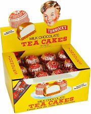 Milk Chocolate Tea Cakes by Tunnock's 36 x 24g | Same day dispatch | UK Seller