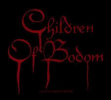 CHILDREN OF BODOM - Patch Aufnäher - blood logo 10x10cm