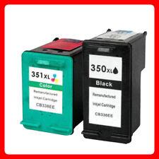 Set unbrand Fits hp 350XL 351XL Deskjet D4200 D4245 D4260 Black Ink Cartridge