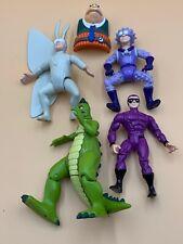 The Tick Action Figure Lot Bandai 1994-95 Dinosaur Neil Urchin Dyna-Mole Arthur