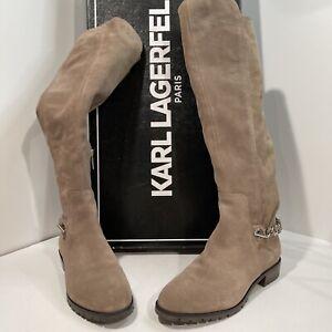 Karl Lagerfeld  Paris Women's Tall Boots  Size 9