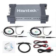 Hantek 6204bd 4ch oscilloscope parts 200mhz 1gsa/s usb pc + 25mhz signal