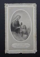 CANIVET LETAILLE PL 248 Croix image Pieuse HOLY CARD 19thC Santino 1