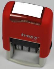 Stempelautomat Selbstfärber BEZAHLT AM oder Wunschtext mit Datum bis 2025    NEU