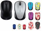 OEM Logitech M317c Wireless Optical Mouse, Black, Blue, Gray, Nano Receiver