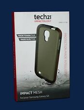 100%GENUINE TECH21 D3O IMPACT MESH Clear Shell Case for Samsung Galaxy S4 NEW!!