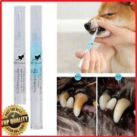 Pet Teeth Repairing Cleaning Tools Kit Dog Cat Tartar Dental Stone Pen - 2PCS
