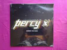 "Ultra Rare 2x Vinyl 12"" /  Percy X ‎– Where's The Music / S"
