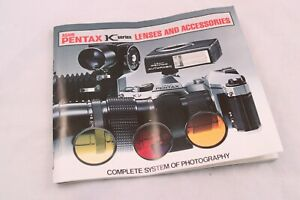 Vintage 1975 Pentax Camera K Series Lenses and Accessories Book Catalog Guide