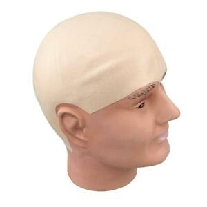 Latex Rubber Bald Cap Skin Head Uncle Fester Halloween Party Costume Accessory