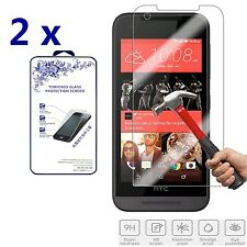 2x For HTC Desire 520 Premium Tempered Glass Screen Protector Film 2.5D 0.3mm HD