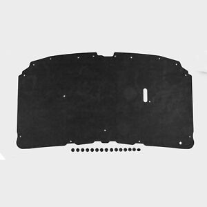 1999-2007 Ford F250 F350 F450 & Excursion Hood Insulation Pad with OE Clips DMT