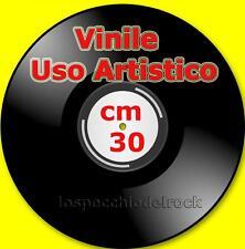 15 VINILI * 33 GIRI SENZA COPERTINA - CIRCONFERENZA CM 30 - PER USO ARTISTICO