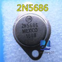 5PCS 2N5686 Transistor NPN 80V 50A 300W 2MHz NEW