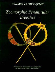 Roman Celtic Irish Penannular Zoomorphic Mythical Animal Brooches Fibula Jewelry