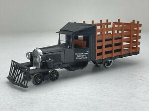 On30 Bachmann Rail Truck Colorado Mining Co DC/DCC 29162 IC181