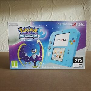 Nintendo Handheld Console 2DS with Pokemon Moon New Sealed Rare