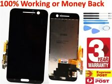 LCD Display Digitizer Touch Screen Assembly for HTC 10 Black + Tools + Warranty.
