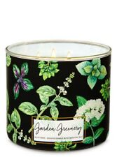 Bath & Body Works Large 3-wick Garden Greenery Scented Candles Brand New
