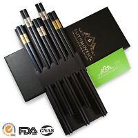 Fiberglass Polymer Alloy Reusable Chopsticks 24.0_Premium Non-Slip_FAITHMOVEMT