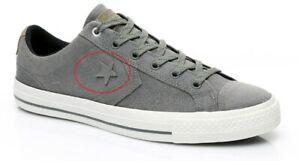 Converse Mens Star Player 153740C Sneakers Regular Charcoal Grey Size UK 11