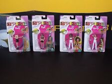 "4 Spice Girls Girl Power Mini 3"" Figures 1998 Scary Posh Baby Sporty Set #2"