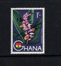 Ghana 1965 12p on 1s Shell Ginger Flowers MNH Sc 222 SG 387