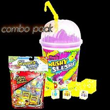 The GROSSERY GANG MUSHY SLUSHIE CUP + 10-Pack Collectable Grosseries Combo Pack