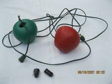 Vintage Blow Mold FRUIT String of Lights / Outdoor/ RV/ Patio/ Camper PARTS ONLY
