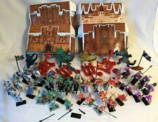 Medieval Times Plastic Knights Figurines Playset & Tub Dragons Awesome Kids